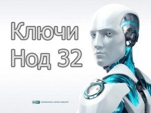 Ключи активации для Нод 32 на декабрь 2019-2020 года